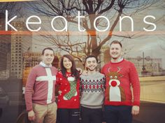 Christmas Jumper Day @ Keatons Canary Wharf office!