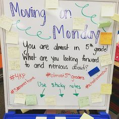 Our last Monday morning message. I forgot to take a picture of Friday's! #4KP…
