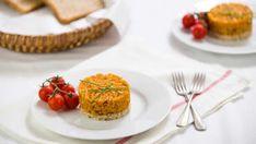 Tataráček z pečeného celeru – Snědeno. Muffin, Paleo, Cooking Recipes, Snacks, Breakfast, Fitness, Morning Coffee, Appetizers, Chef Recipes