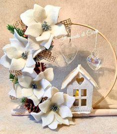 Felt Crafts, Holiday Crafts, Diy Crafts, Jingle All The Way, Felt Ornaments, Jingle Bells, Creations, Wreaths, Hobby