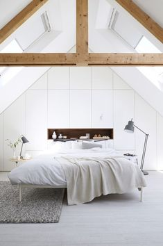 bedroom with built in