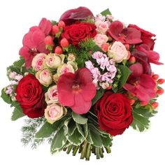 1000 images about bouquets de fleurs rouge on pinterest rouge bouquets an - Bouquet des fleurs rouges ...
