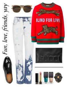 """""""Kick it!"""" by schenonek on Polyvore featuring moda y Gucci"""