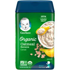Quinoa Cereal, Rice Cereal, Organic Cereal, Baby Snacks, Baby Foods, Baby Cereal, Gerber Baby, Organic Baby, Meals For One