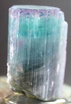 79 Gram Huge Size Unique Purple Cap Paraiba TOURMALINE Crystal from Afghanistan