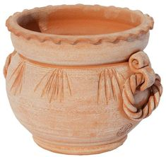 Acquista caspò in terracotta Container Gardening Vegetables, Islamic Images, Good Morning Flowers, Large Pots, Terracotta Pots, Planter Pots, Pottery, Clay, German
