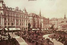 Budapest, Döbrentey tér. 1900as évek eleje.
