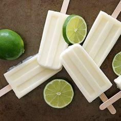picolé coco e limão