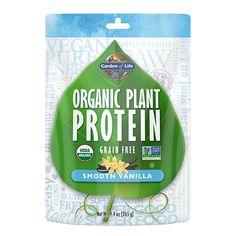 Organic Plant Protein Smooth Vanilla - 9.4 oz (265g)