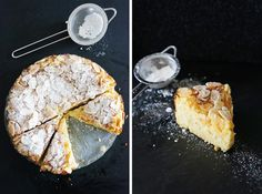 this week's recipe: lemon, ricotta, and almond flourless cake