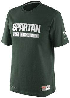 29c42c2cbbf MSU Nike Team Issued T-shirt Nike Basketball, High Top Basketball Shoes,  Basketball