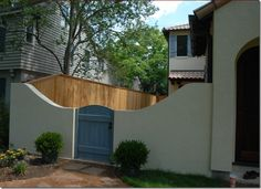 images about fence on Pinterest Fencing Stucco