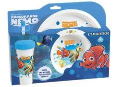 Kit Alimentação Nemo 3 Peças - Baby Go com as melhores condições você encontra no Magazine Crisnine. Confira!