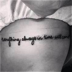 "@SabeedaWeeda - ""Everything Always in Time Will Come."" - Everything In Time"