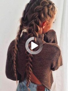 ▷ 1001+ ideas for braids that will keep you cool this summer - #this #holding #ideas #summer #braidstyles - #shortsummerhairstyles Side Braid Hairstyles, No Heat Hairstyles, Easy Hairstyles For Long Hair, Ladies Hairstyles, Cool Braids, Braids For Long Hair, Side Braids, Medium Hair Styles For Women, Short Hair Styles