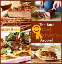 Beef Brisket Recipes | If you're a fan of tasty beef recipes, you need to try these dinner recipes. Beef brisket has never tasted this good.