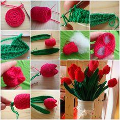 Crochet Home Decor Ideas .