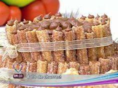 Bolo de Churros - Foto de Mais Você na TV