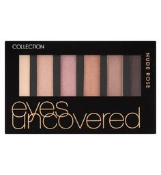 Collection Eyes Uncovered palette nude rose £2.99