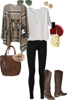 """Casual"" by angela-reiss ❤ liked on Polyvore Chic western look a la ""Ralph Lauren ranch"""