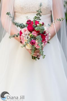 Bridal bouquet: September