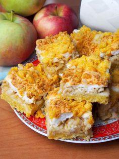 Apple Cake Recipes, Oreo, Sweets, Cheese, Cookies, Food, Polish, Apple Pie Cake, Crack Crackers