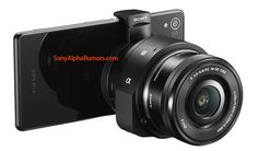 Leaked: Sony's Next Smartphone 'Lens Camera' Will Let You Swap E-Mount Lenses