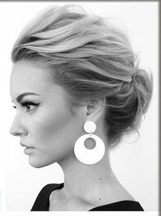What are some examples of elegant updos?