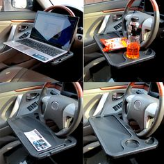 Universal Steering Wheel Tray Car for Food or Laptop Stand Holder