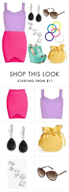 Mix & Match: Summer Outfit #103 by mscody on Polyvore featuring HOBO, Carolee, Topshop, H&M, Dulce, Summer, summerstyle, summeroutfit and summerfashion