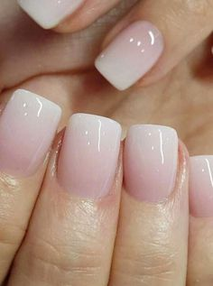 ombre nails - polished nails - powder nails - powder - printer I can make 60 year old clients look just like 20 year old hand source powder Nails Fancy Nail Ideas to Note Now 2019 day nails dip powder Ombre Nail Polish, Pink Ombre Nails, Red Nails, Glitter Nails, Hair And Nails, Sparkle Nails, Yellow Nails, Matte Pink, Dark Nails