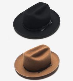 Open Road Wool Western Hat by QP Collections