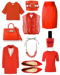 Tomato Red 10 on trend shades for spring!