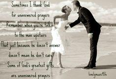 Garth, Unanswered Prayers