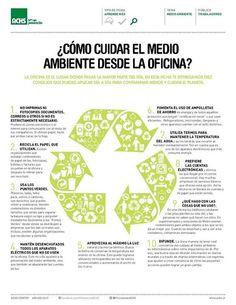 ¿Cómo cuidar el medio ambiente desde la oficina?