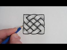 Now see How To Draw 4 More Celtic Knot Designs: http://youtu.be/CAbnWHvDC2I Here is a more complex Celtic Knot: http://youtu.be/9j34xz-xJ5E Learn to draw a s...