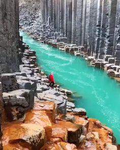 Glacier Gates, Iceland