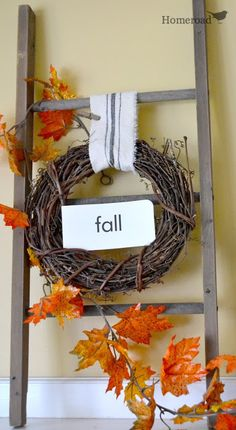 Fall Decorating  www.homeroad.net