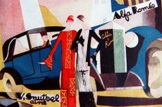 Lot 252. René Magritte, « Alfa Roméo. V. Snutsel aîné. Norine ». 1924, quadrichromie, estimation 100/150 euros. René Magritte, « Alfa Roméo. V. Snutsel aîné. Norine ». 1924, quadrichromie, estimation 100/150 euros.