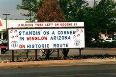 #Winslow | #Arizona | #Route66