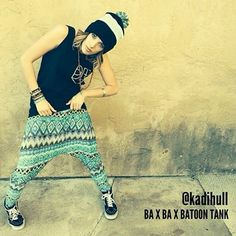 Check out @Kadi Hull wearing her Ba-Ba-Batoon Tank! Check out this tank and other cool Megan Batoon merch on our online store! | https://worldofdance.com/store |