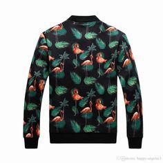 Men's flamingo winter coat