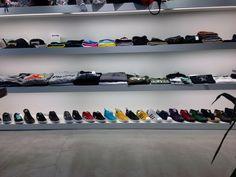 Atmos Sneaker and t-shirt wall in Tokyo. shopping guide to Tokyo. Tokyo Travel Guide, Visit Tokyo, The New Wave, Sneaker Stores, Tokyo Shopping, Japan, Wall, Shirt, Okinawa Japan