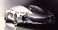 Mercedes-Benz 2040 Vision Sedan by Sansung Moon