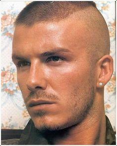david beckham military haircut