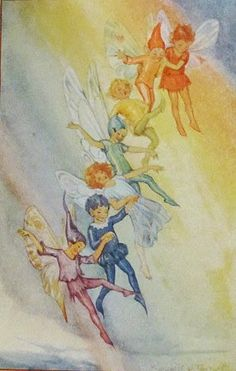 March House Books Blog: Book of the Month; The Weather Fairies by Marion St. John Webb Illustrated by Margaret Tarrant c1924