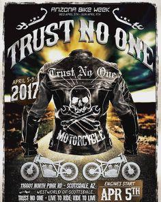 Trust No One at Arizona Bike Week! Join us at #azbikeweek on the #westworld grounds in #scottsdale  @tn1trustnoone @thurberstudios #TrustNoOne #tn1trustnoone #arizonabikeweek #bikers #bikersofinstagram #truth #followyourdreams #motorcycle #harleydavidson #harleylife #choppers #baggers #rideordie #ridefree #photooftheday #bikelife #ridefast