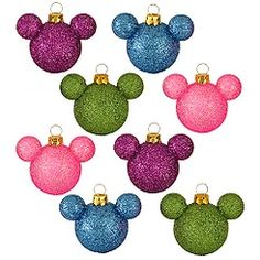 Mickey Mouse Christmas Ornaments