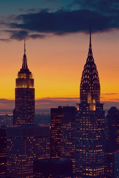 New York at Sunset