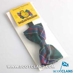 Clan Sinclair Tartan Bow Tie: